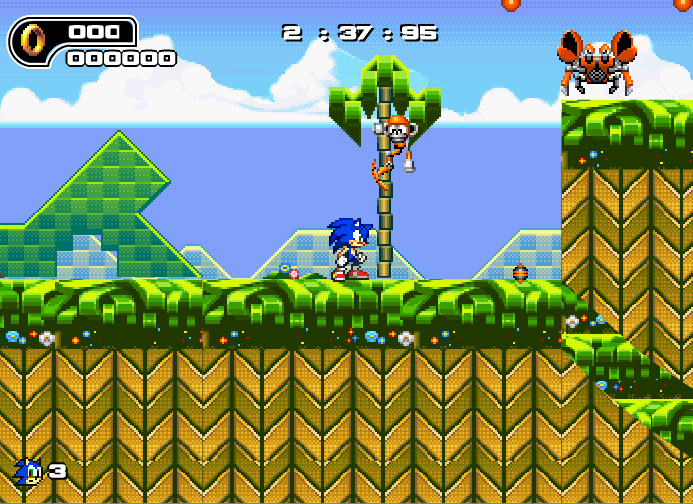 sonic online flash games